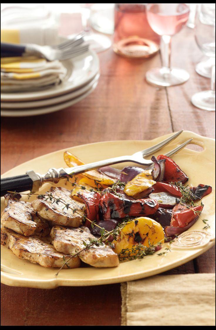 bad.: Pork Recipes, Grilling Foods, Grilled Pork Chops Recipe, Grilled ...