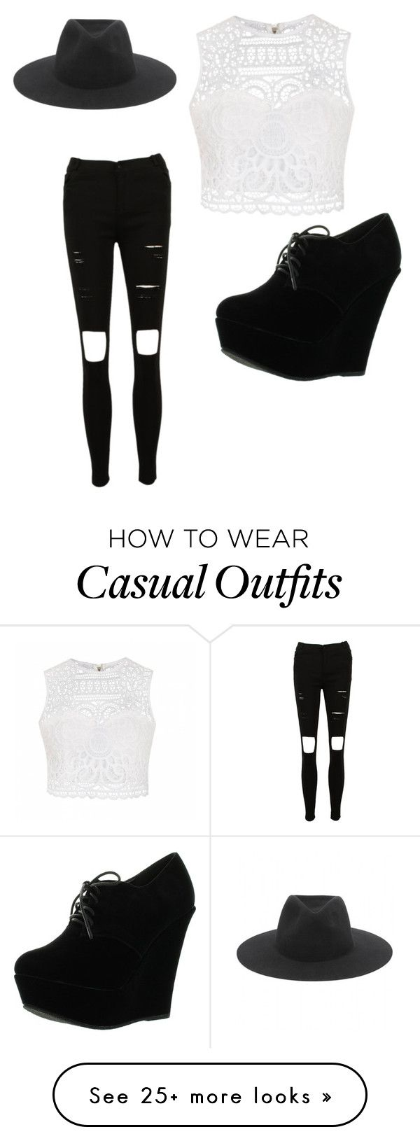 """""""Casually colorless"""" by rogue1290 on Polyvore featuring Ally Fashion, Forever Link and rag & bone"""