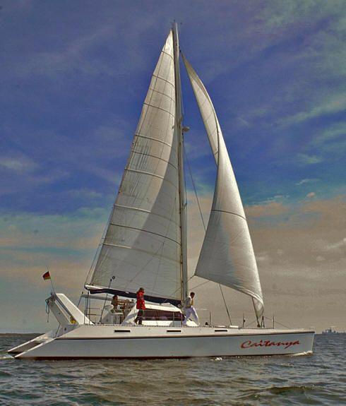 Used Kelsall Tango 52 Performance holiday catamaran for sale