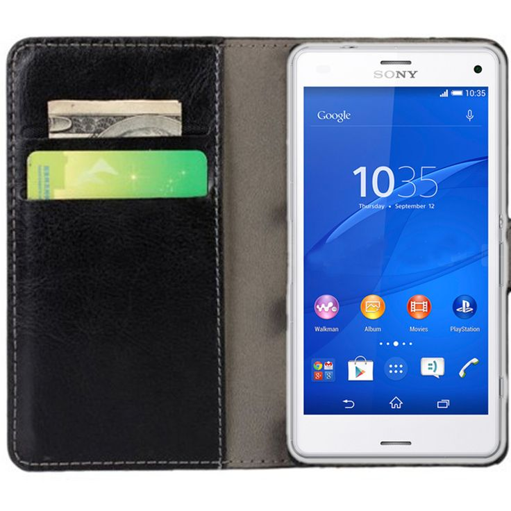 New Case - Black Luxury Leather Wallet Stand Case for Sony Xperia Z3 Compact, $15.95 (http://www.newcase.com.au/black-luxury-leather-wallet-stand-case-for-sony-xperia-z3-compact/)
