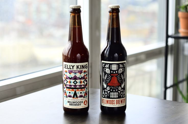 Bellwoods Brewery January 2017 Offerings - Jelly King and Dark Sour on Cherries