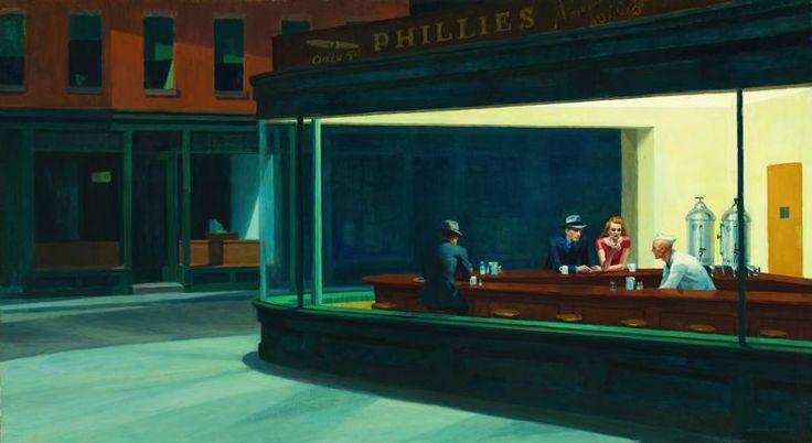 Edward Hopper American, 1882-1967 Nighthawks, 1942 The Art Institute of Chicago