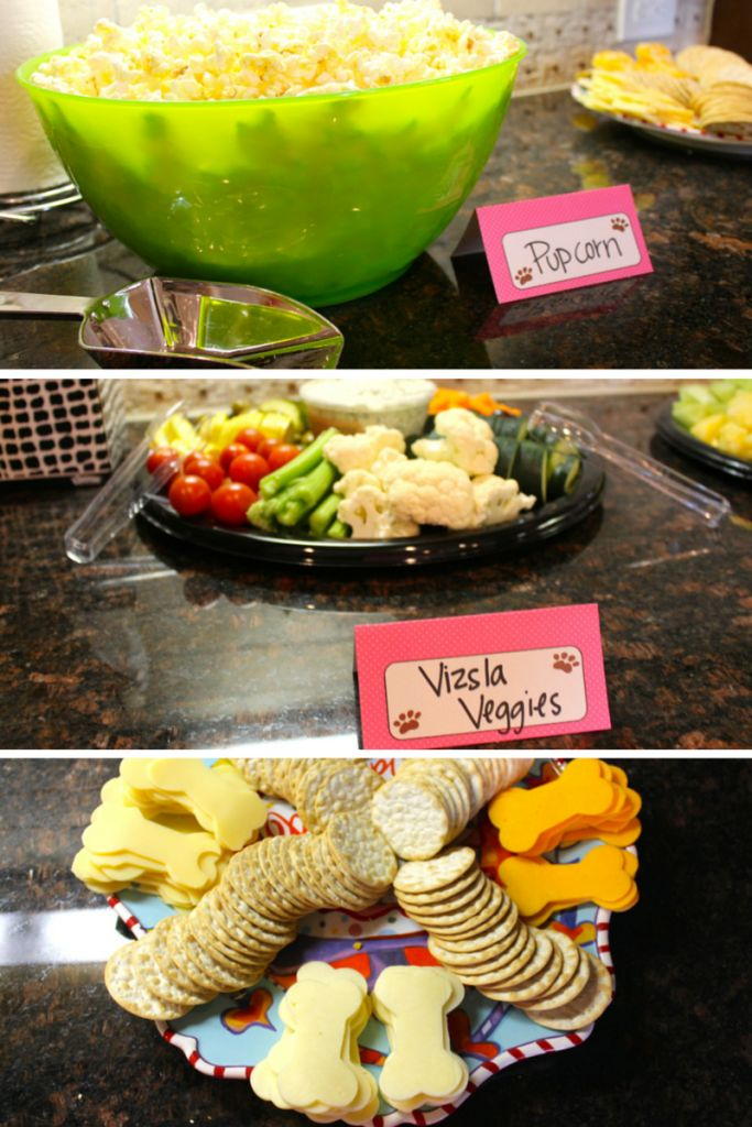 Best 25 Dog Themed Food Ideas On Parties Paw