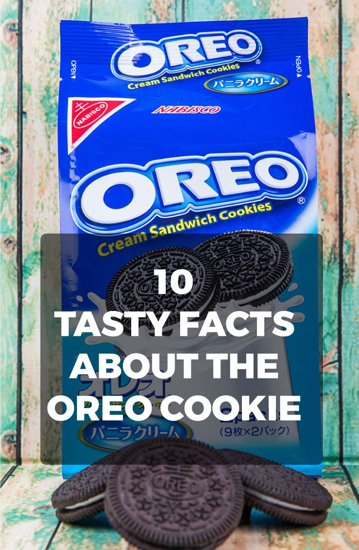 You may think you know everything there is to know about the Oreo Cookie, but we're sure you don't. Here are 10 tasty facts about our favorite cookie treat!