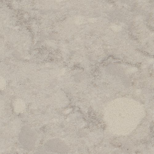 Viatera® Quartz surface in Natural Limestone - gray with green undertones