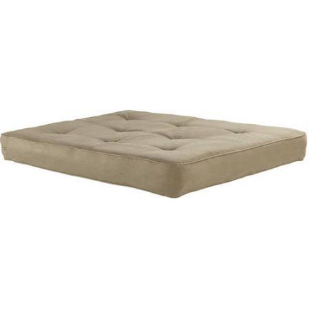 "8"" Independently Encased Coil Premium Full Futon Mattress, Multiple Colors - Walmart.com"