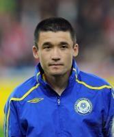Fussball International EM 2012-Qualifikation: Nurbol Zhumaskaliyev (Kasachstan)