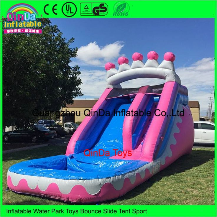 Inflatable Pool Slide Uk: Best 25+ Inflatable Water Slides Ideas On Pinterest