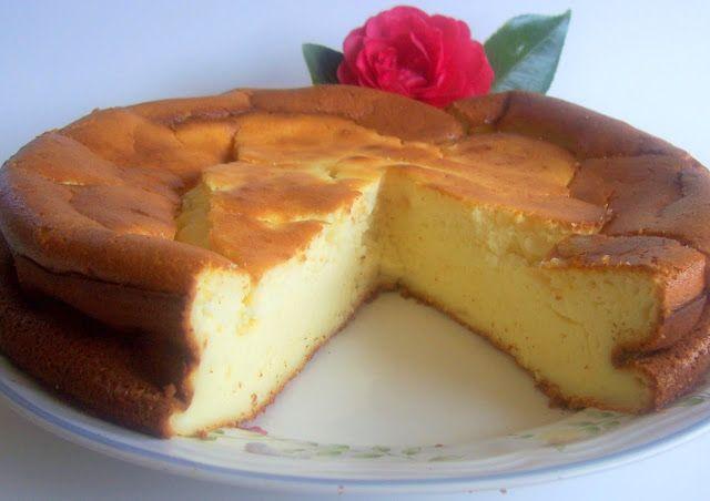 tarta de queso con yogures griegos (al horno)