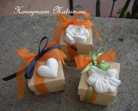 Boxes with candies