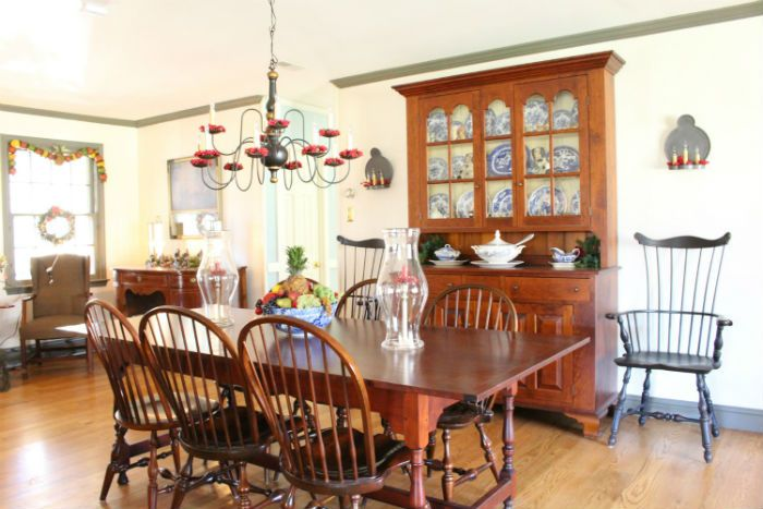 Williamsburg dining room from Vintage American Home