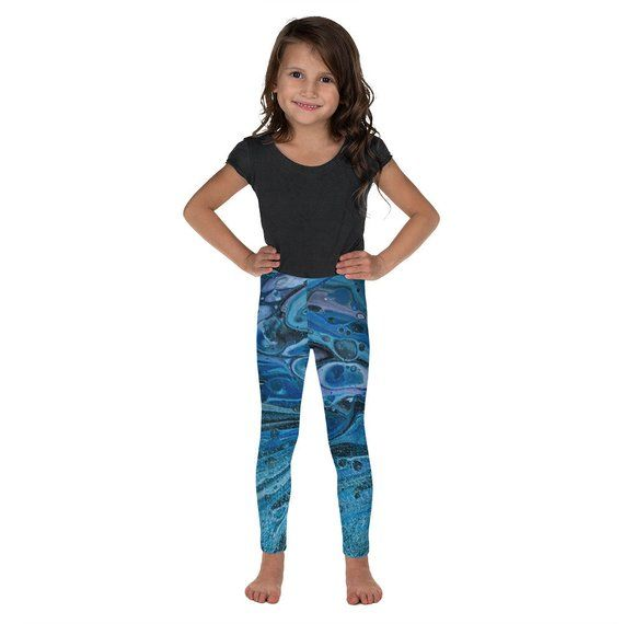 Kids Leggings BLUE GALAXY