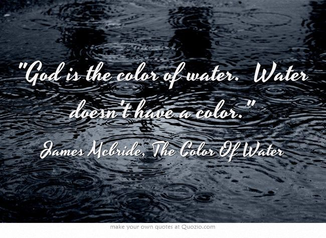 25 Best The Color Of Water James Mcbride And Ruth Mcbride Images Quotes From The Color Of Water About Race With Page Numbers