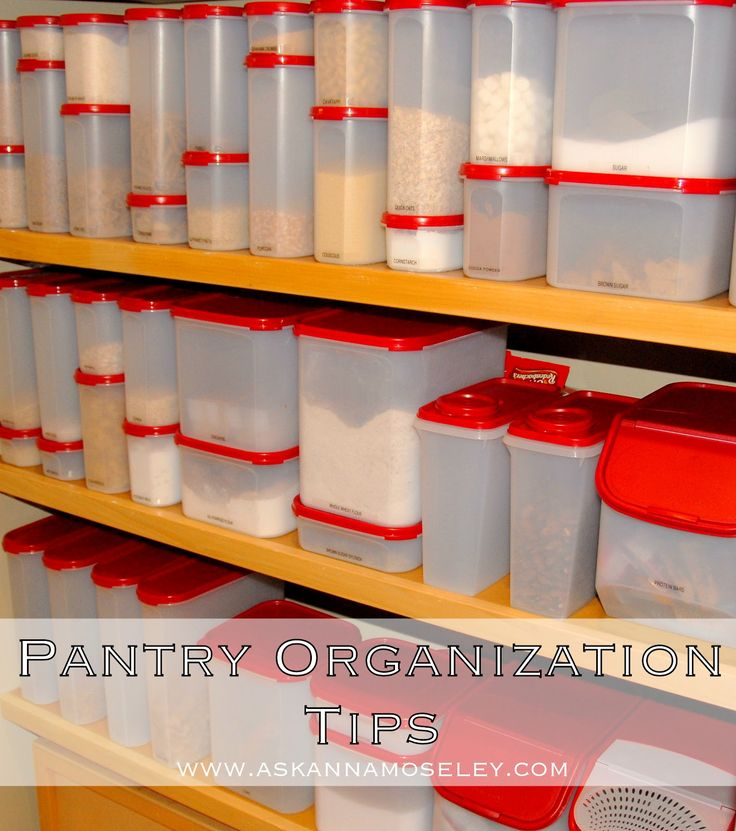 9 Tips For A Perfectly Organized Pantry: 28 Best Images About Planovers