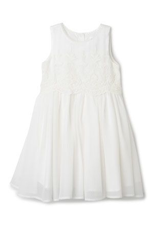 Myers vanilla called oragami bodice is lace its fairly simple and not flouncy. and only $59