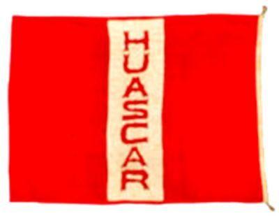 Banderola del Huáscar capturada en el Combate de Angamos durante la Guerra del Pacífico