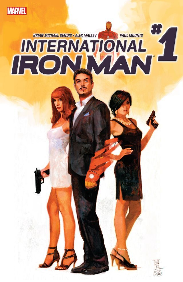 International Iron Man (2016) #1 #Marvel @marvel @marvelofficial #IronMan (Cover Artist: Alex Maleev) Release Date: 3/16/2016