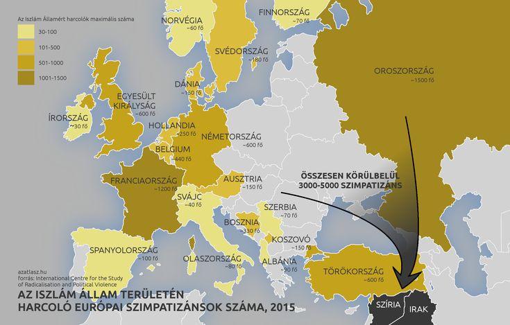 Európai harcosok az Iszlám Államban
