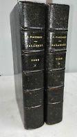 FLAUBERT GUSTAVE  SALAMMBÔ ED LEMERRE (2 volumes)