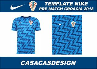 9cf9392d20270 VECTOR CAMISETA PRE MATCH CROACIA 2018