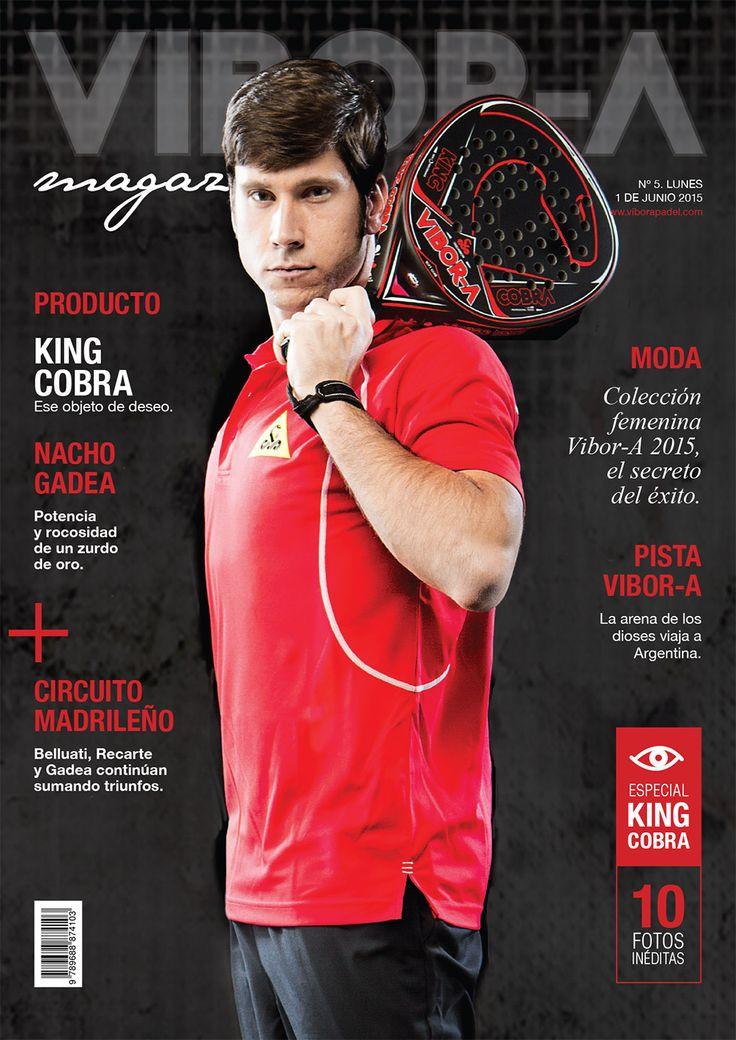Nacho Gadea en portada.