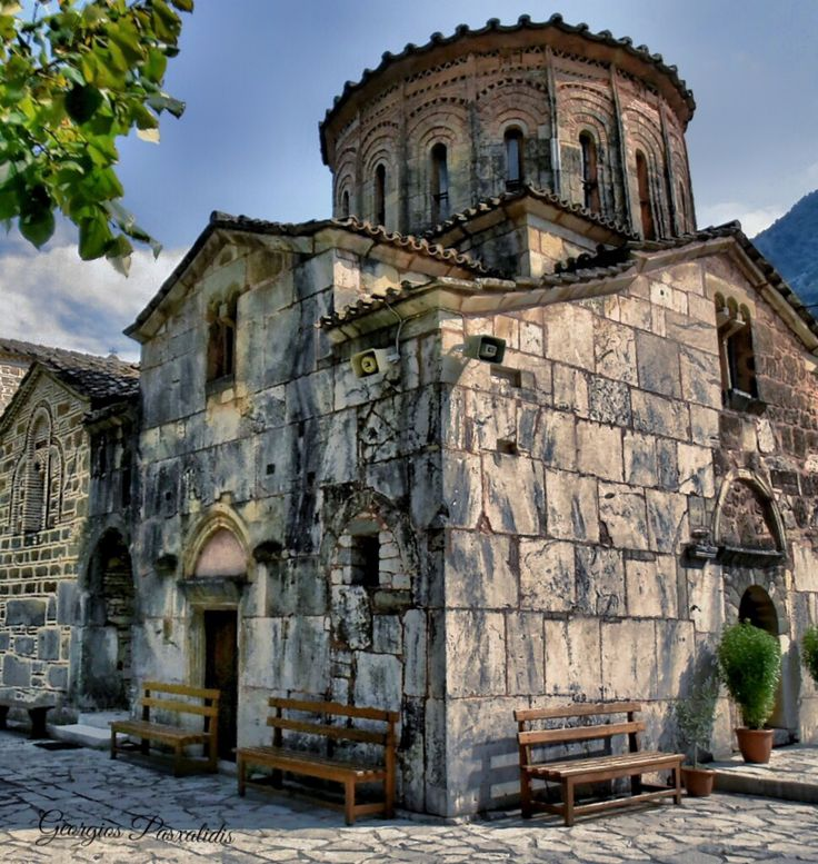 BYZANTINE CHURCH...TRIKALA...GREECE.....