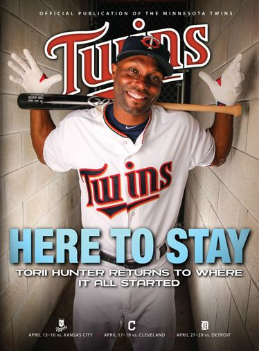 Check out the latest cover of Twins Magazine, featuring Torii Hunter!