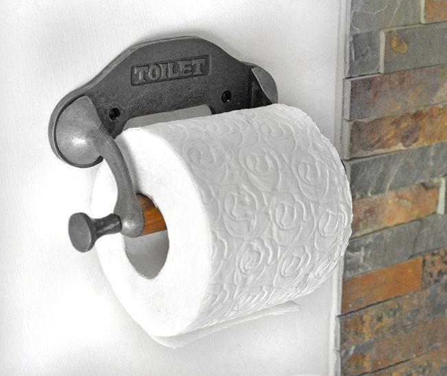 Rustic Toilet Roll Holder