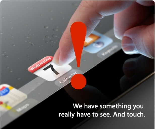 Apple iPad 3 Event Invitation: 7 Clues You Might Have Missed! These could change the classroom!