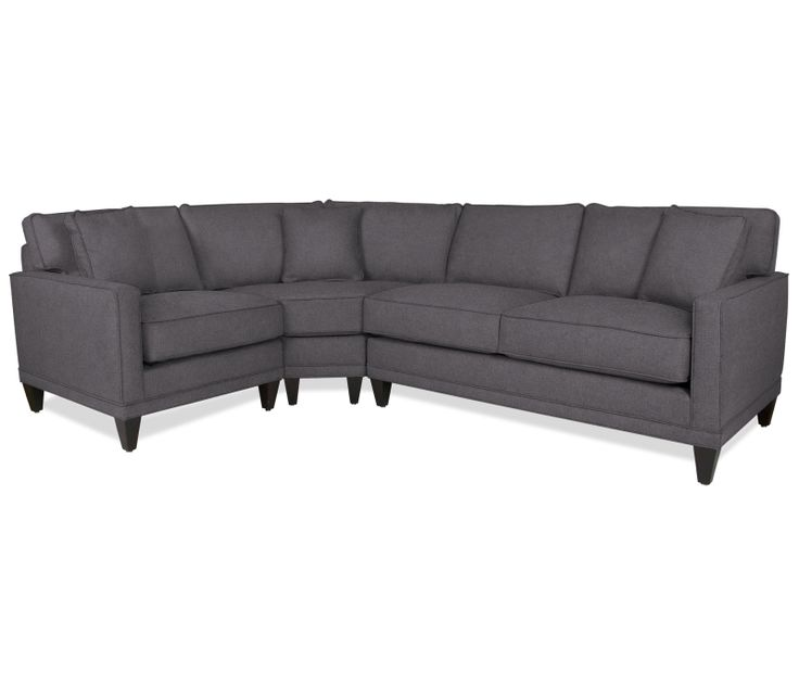 oslo 3pc sectional w wedge boston interiors upstairs living room pinterest oslo boston interiors and interiors