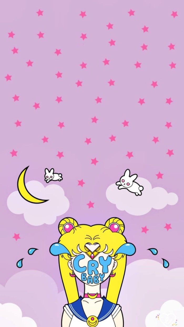 Kawaii WallpaperLock ScreensMobile WallpaperMoon PrincessMagical GirlIphone