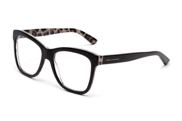 Gafas graduadas 2015-2016: fotos de los modelos - Dolce and Gabban gafas negras