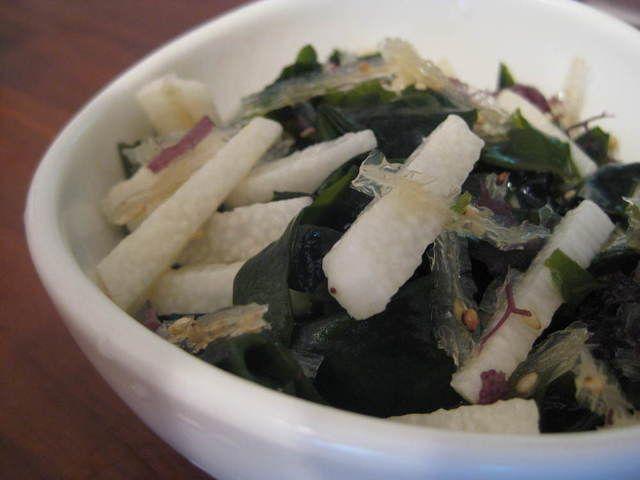 海藻と山芋のさっぱりサラダ by はじこファミリー - おいしい健康: 毎日のおいしい食事・健康管理 - 糖尿病
