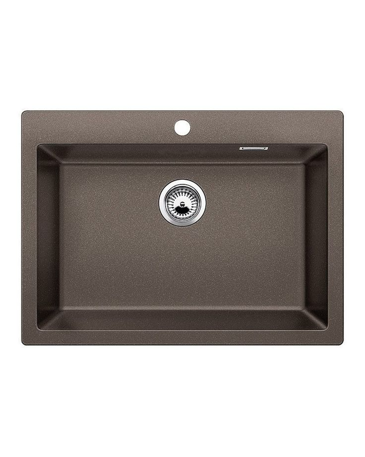 Sink Pleon 8 Coffee A sink with a large trough that will allow you to easily wash in larger utensils such as a pan. It is combined with many accessories which will further facilitate your work.