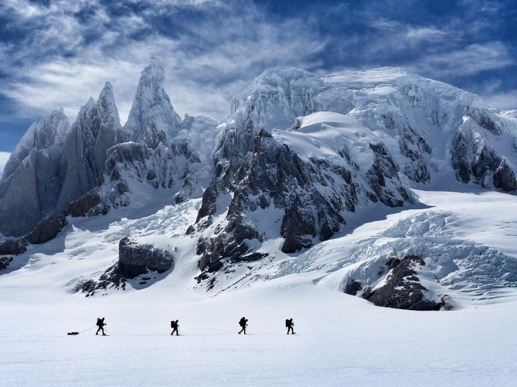 CHILE: Campos de Hielo Sur , Cerro Torre (frontera Blanca)