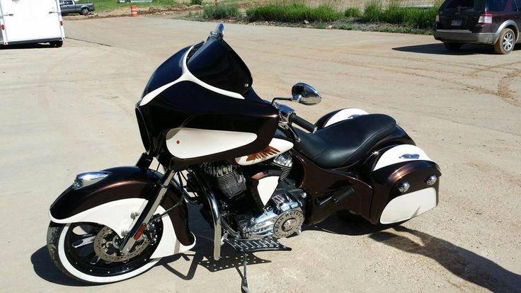 Indian Motorcycle Chieftain Seen At Daytona Bike Week 2017 American Patriot
