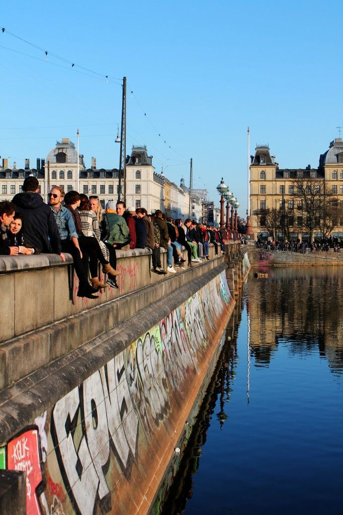Great place to people watch & trust me you want to people watch in Denmark! #Dronninglouisesbro #Norrebro #Copenhagen