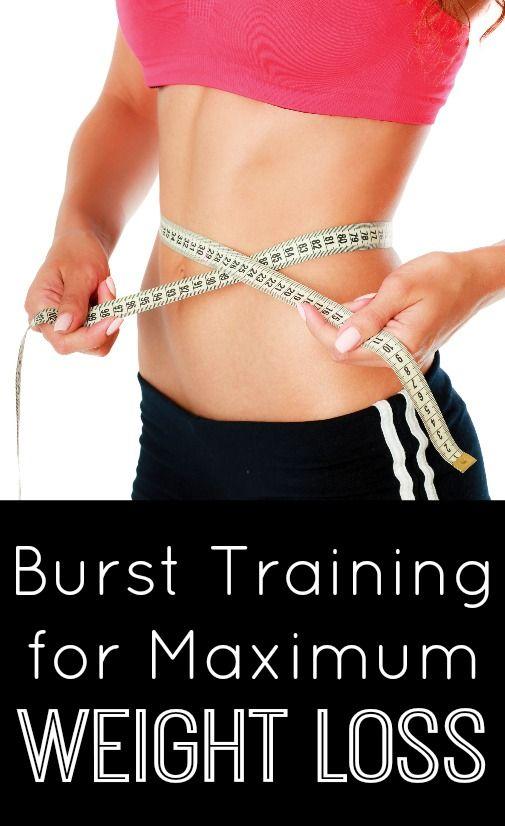 Burst Training for Maximum Weight Loss ~ http://healthpositiveinfo.com/burst-training-weight-loss.html