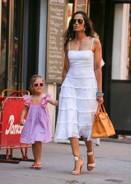 Padma Lakshmi Photos - Padma Lakshmi Spends the Day with Her Daughter - Zimbio