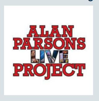 ALAN PARSONS LIVE PROJECT (2015) – March 25 in Milan; March 26 in Padova; March 27 in Florence; March 28 in Rome