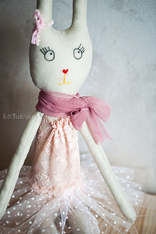 Handmade Bunny Ballerina