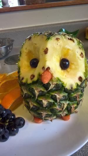 Pineapple owl :) by lottie