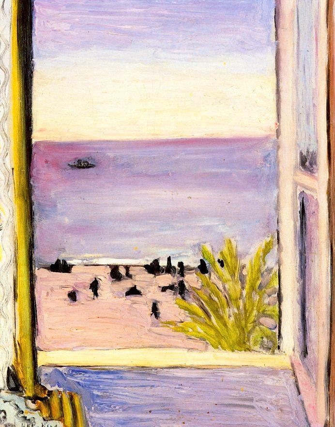 bofransson:  The Open Window Henri Matisse - 1921