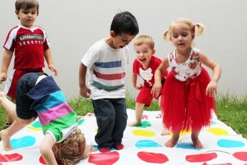 twister games from young kids | 20 Best party games for toddlers twister