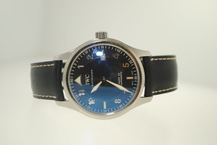 IWC Mark XV Spitfire Stainless Steel Automatic Watch 3523