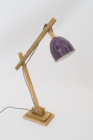 Desk Lamp - Purple fentonandfenton.com.au