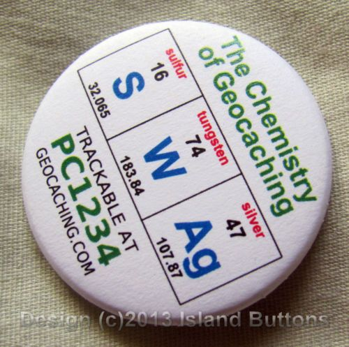 Geocaching Chemistry Swag Trackable Unactivated Icon | eBay