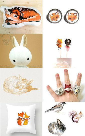 Cute Little Creatures by Cindy R on Etsy--Pinned with TreasuryPin.com