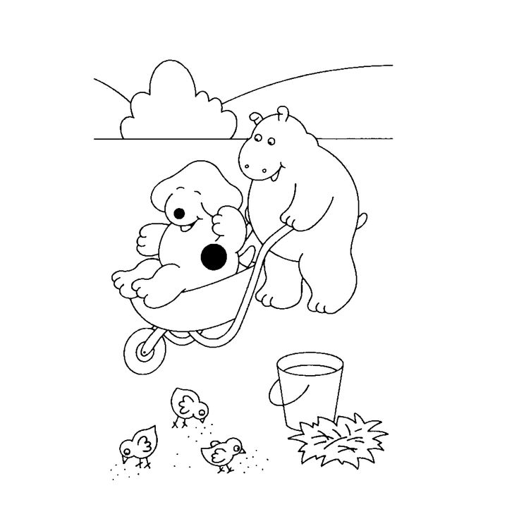 Spot The Dog Coloring Pages