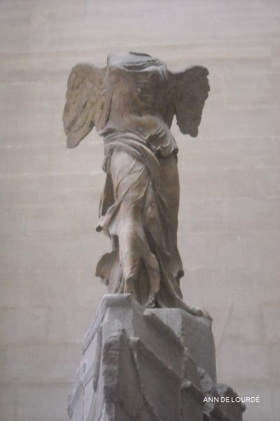 The Winged Victory of Samothrace by Samothrace ca 190, Summer 2010, Musée du Louvre, Paris, France.